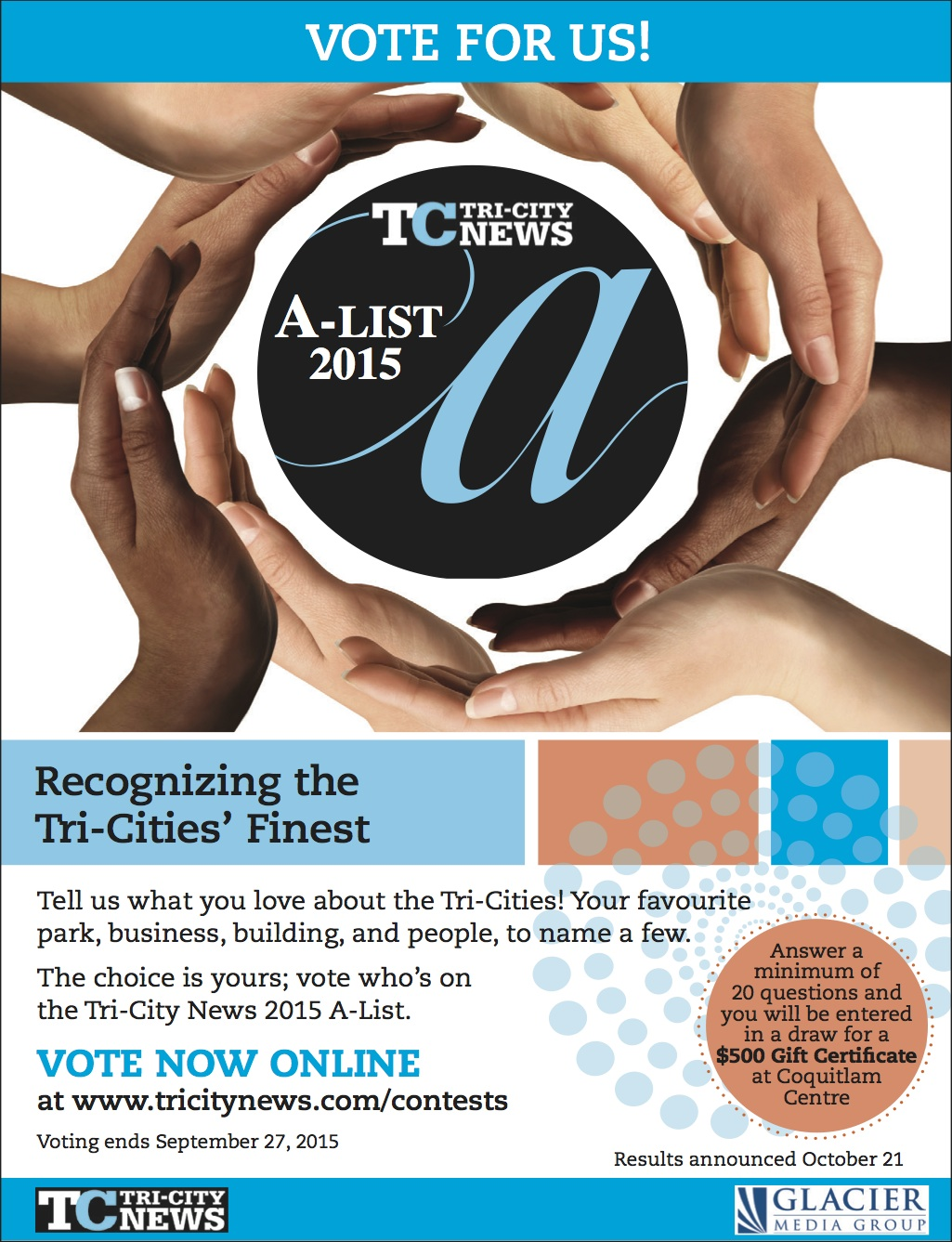 Tricities A-List Poster 2015