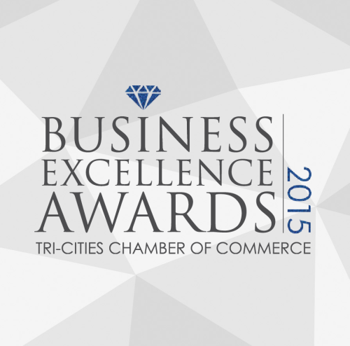 Business Excellence Awards Tri-City Chamber of Commerce logo