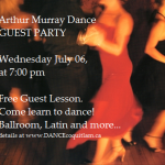 Guest Party – Wed July 06 (tomorrow night)…