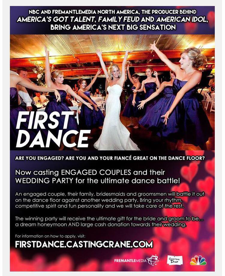 First Dance casting call