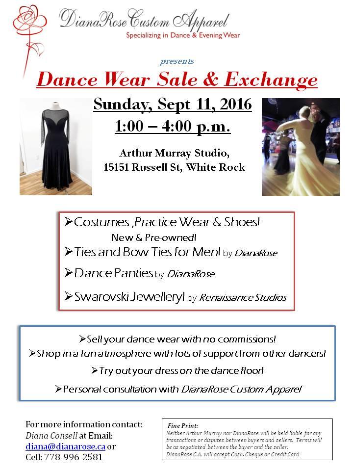 Dance Wear Exchange 2016 Sept