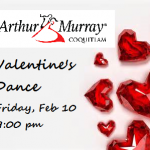 Valentine's Gift Cards and our Valentine's Dance – Friday, February 10 at 9:00 pm.