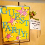 GUEST PARTY – Wednesday, September 20th, 7:00 pm
