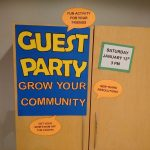 So many reasons to bring someone to the Guest Party next week!  (Saturday, January 13th at 3:00 pm)
