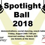 Spotlight Ball this Friday…