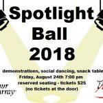 Spotlight Ball this Friday…
