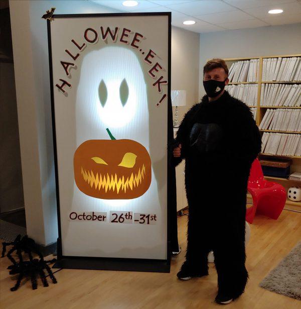 Halloweee…eeek!  October 26 to 31, 2020