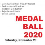 Next Major Event in the studio – MEDAL BALL on Saturday, November 28!