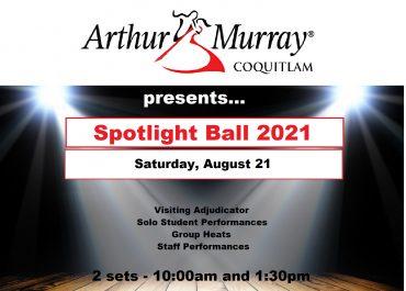 Spotlight Ball - Saturday, August 21, 2021